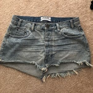 One Teaspoon denim skirt